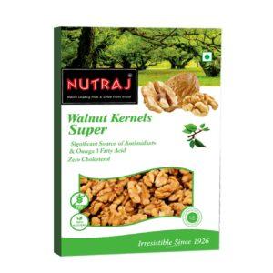 Nutraj - Super Walnut Kernels 250g - Vacuum Pack