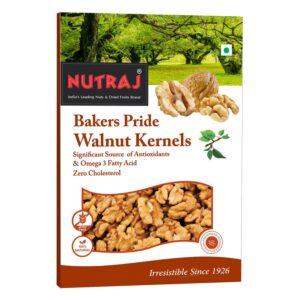 Nutraj Bakers Pride Walnut Kernels 250 Gms - Vacuum Pack
