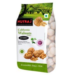 Nutraj California Inshell Walnuts 1000g