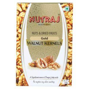 Nutraj - Gold Walnut Kernels  250g - Vacuum Pack