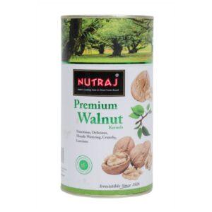 Nutraj Premium Walnut Kernels 200g Canister Pack