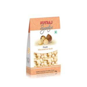 Nutraj Signature Macadamia Nuts 100G - Vacuum Pack