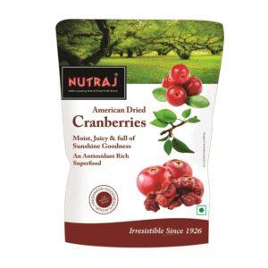 Nutraj Sweet & Tart Sliced Cranberry 180g