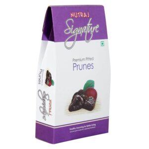 Nutraj Signature Premium Pitted Prunes 200G - Vacuum Pack
