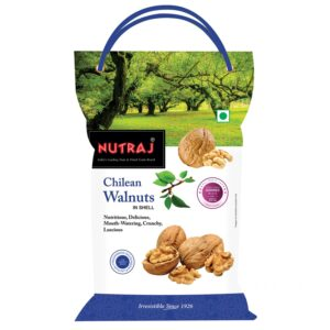 Nutraj Chilean Inshell Walnut 500g