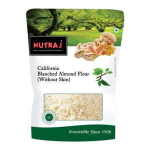 Nutraj California Blanched Almond Flour (Without Skin)