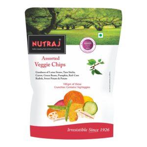 Nutraj Assorted Veggie Chips 50g